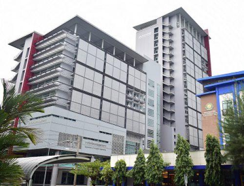 อาคารเรียนหลังใหม่ของภาควิชาวิศวกรรมอุตสาหการและภาควิชาวิศวกรรมเครื่องกล มหาวิทยาลัยเกษตรศาสตร์